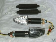 LED indicators Arrow carbon long stem and resistors